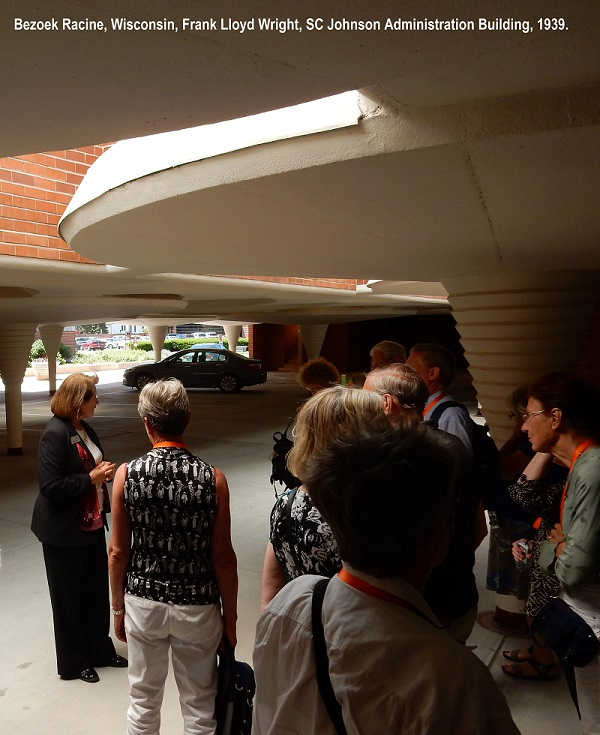 Excursie Racine Johnson Wax Frank Lloyd Wright